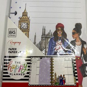 NWT The Happy Planner Rongrong 60 Sheets Paper